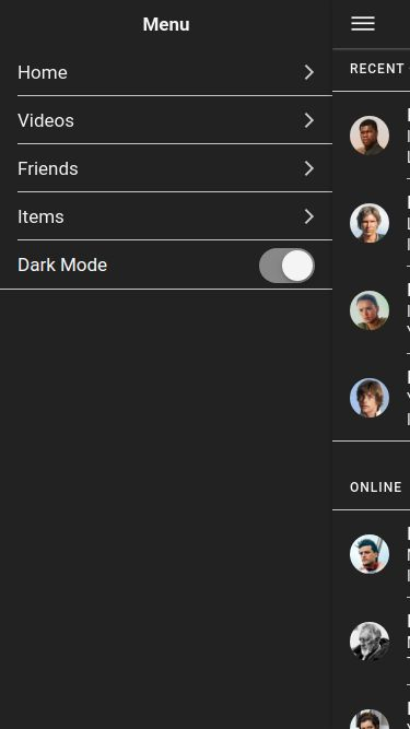 Dark Mode - Ionic Theme Screenshot 17
