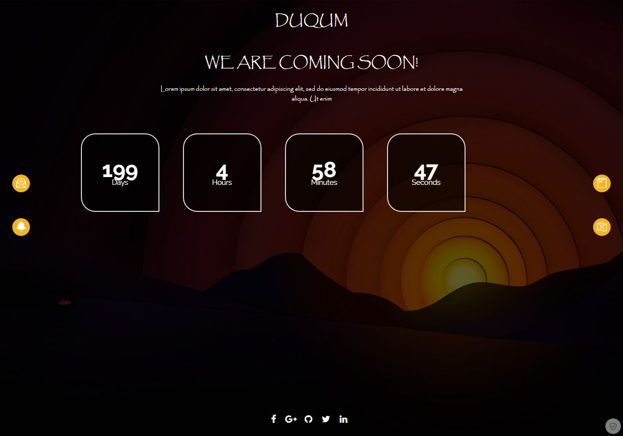 DUQUM Coming Soon Script With Admin Panel Screenshot 3
