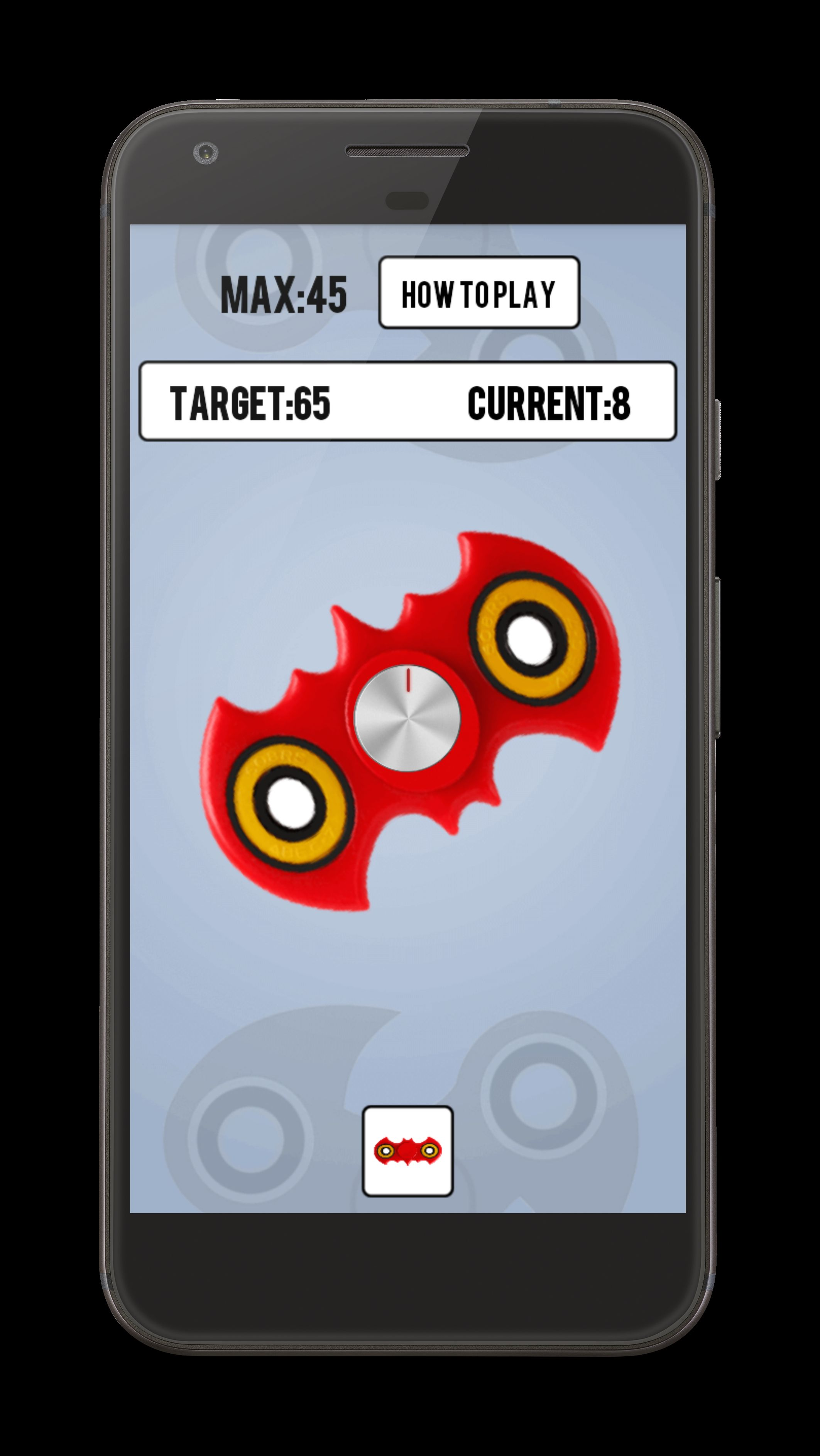 Fidget Spinner - Android Source Code Screenshot 2