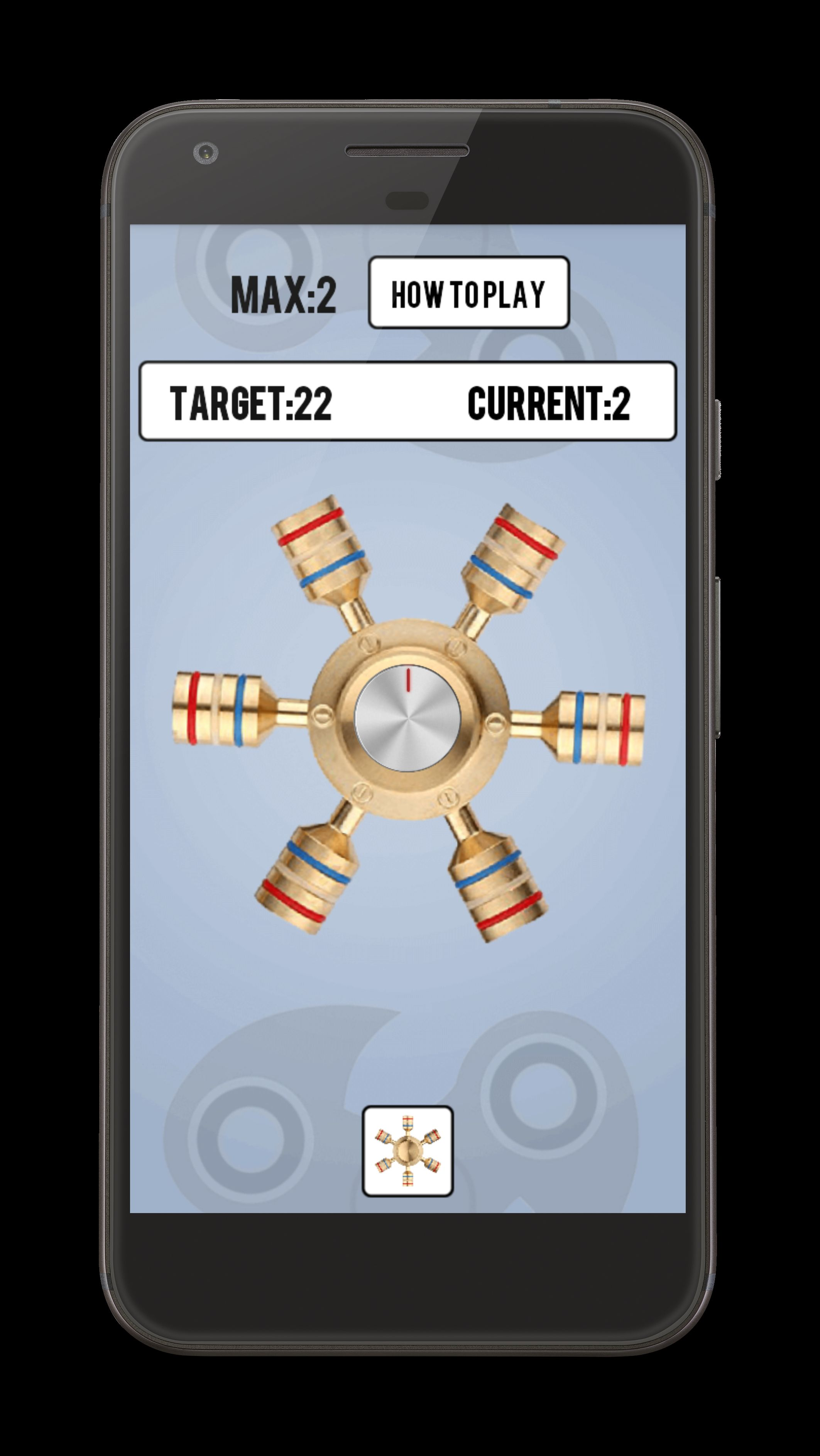 Fidget Spinner - Android Source Code Screenshot 3