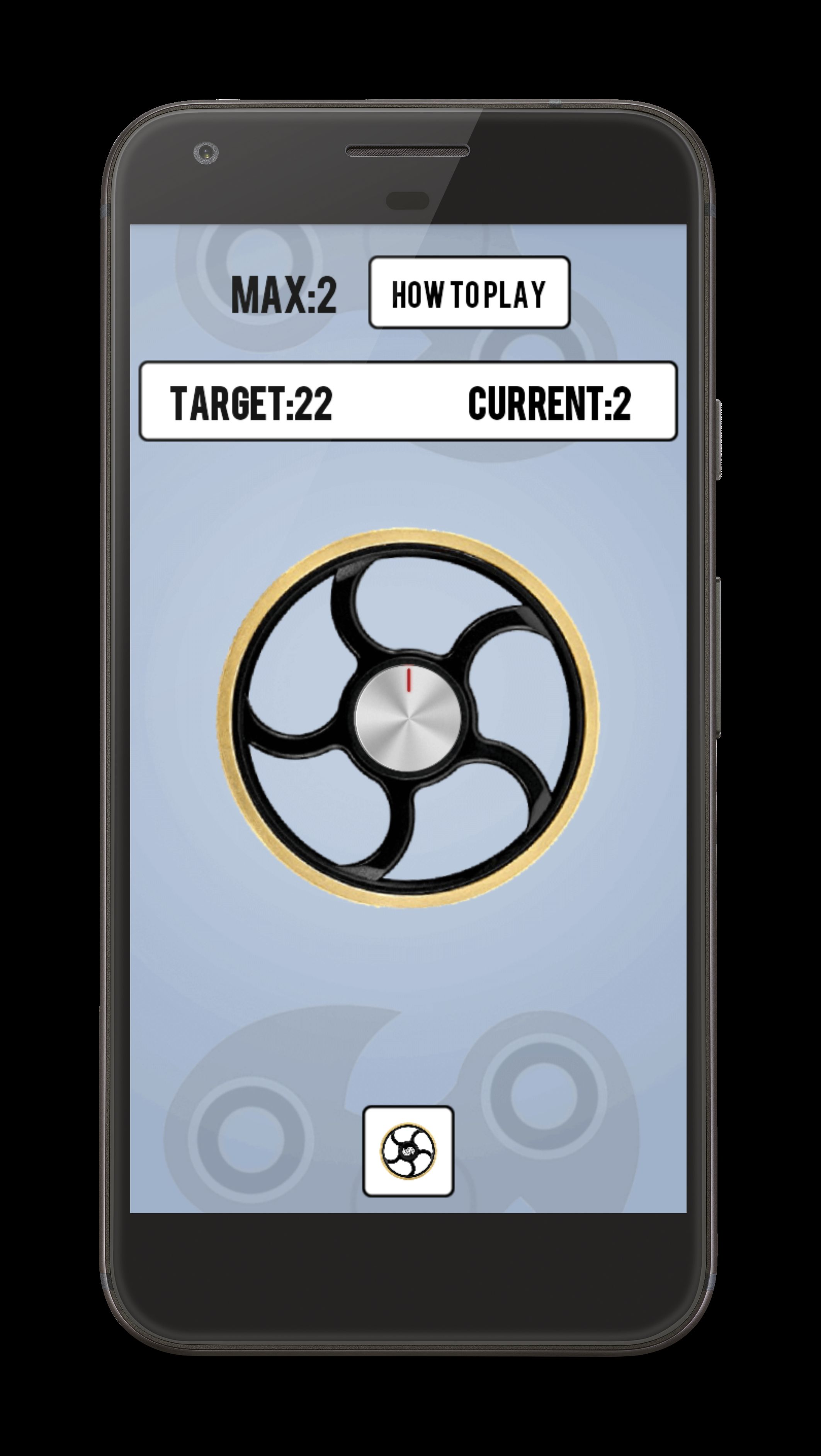 Fidget Spinner - Android Source Code Screenshot 4