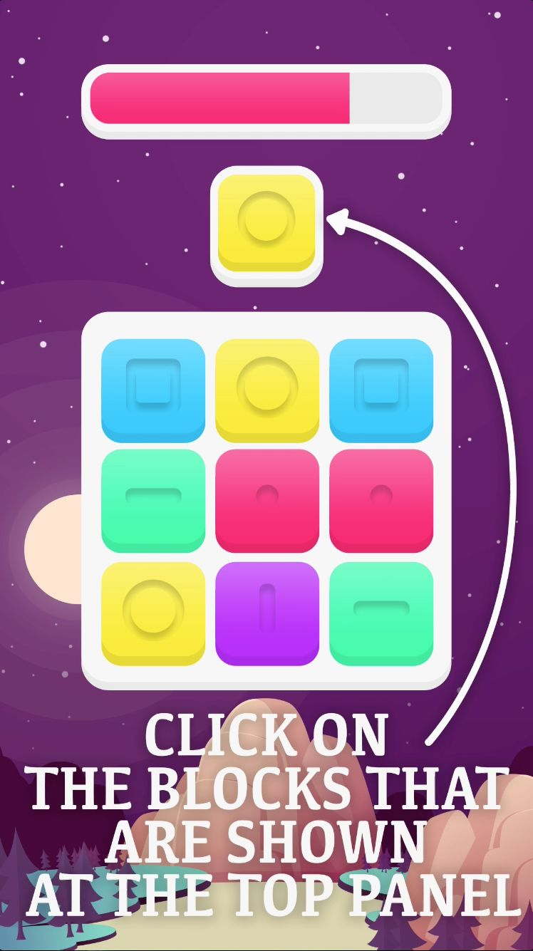 Blocky Blocks - iOS Xcode Source Code Screenshot 2