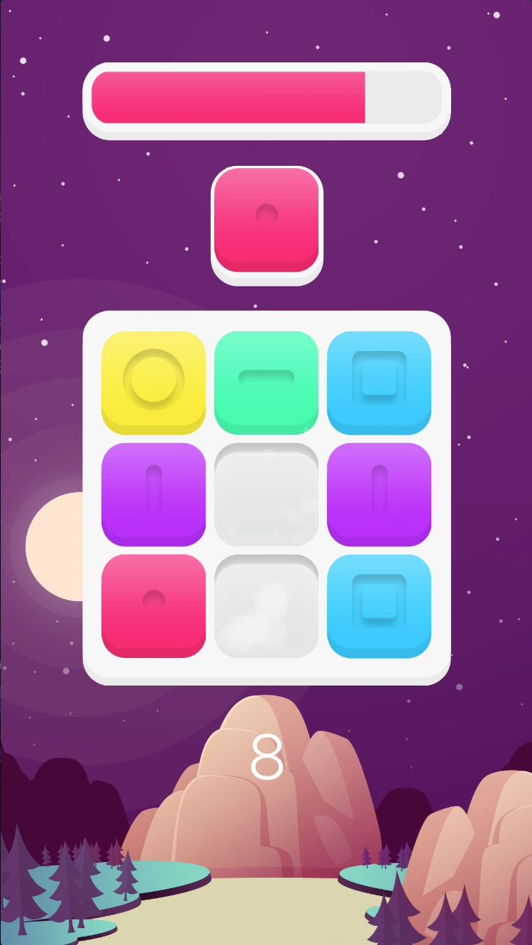 Blocky Blocks - iOS Xcode Source Code Screenshot 4