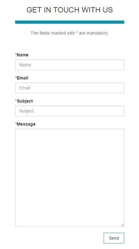 Responsive And Modal Contact Form - PHP Form Scripts & Generators ...