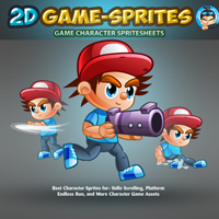 2D Game Character Sprites 1