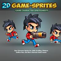 2D Game Character Sprites 3