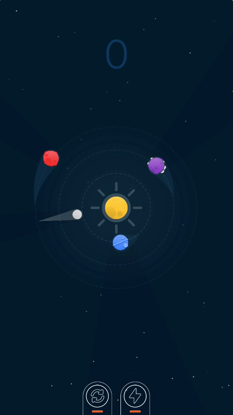 Planets Defender - iOS Source Code Screenshot 2
