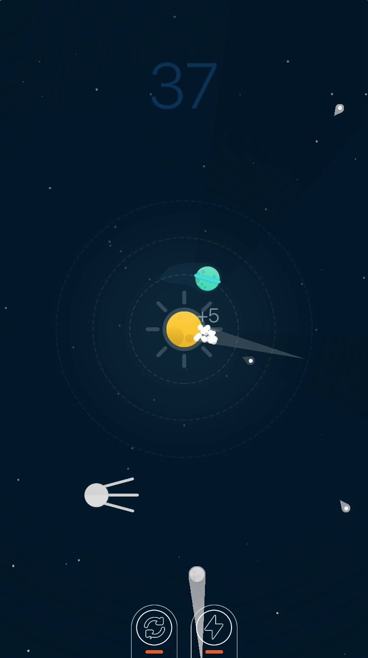 Planets Defender - iOS Source Code Screenshot 3