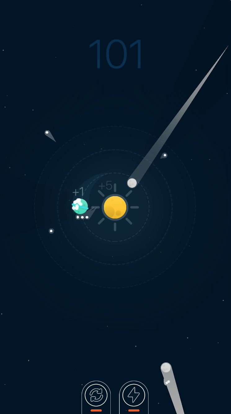 Planets Defender - iOS Source Code Screenshot 8