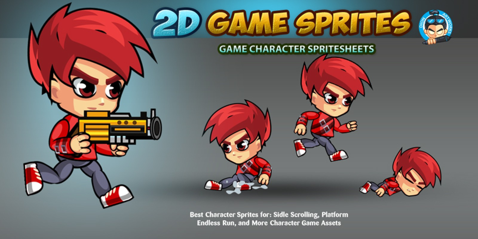 how to make 2d sprites