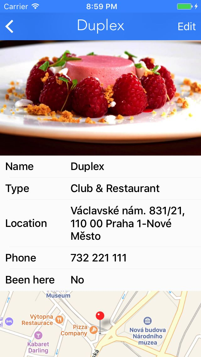 Restaurant Journal - iOS App Source Code Screenshot 4