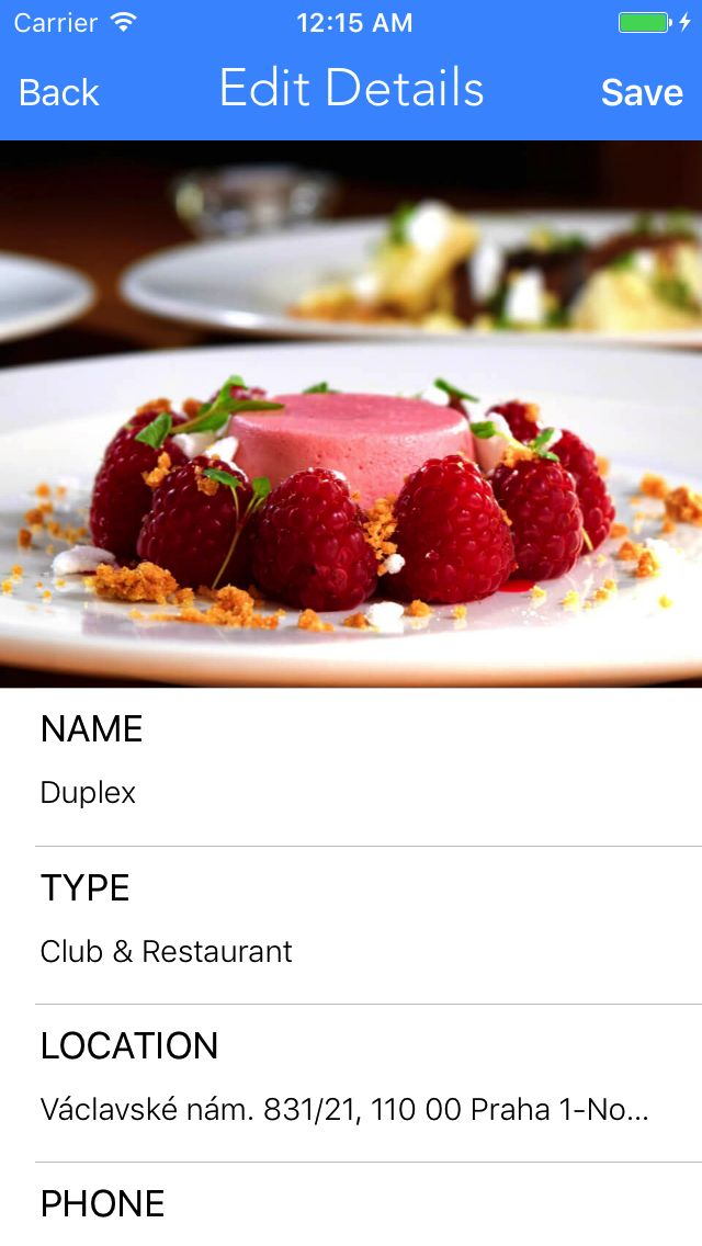 Restaurant Journal - iOS App Source Code Screenshot 5