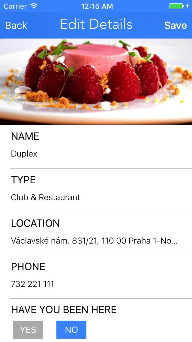 Restaurant Journal - iOS App Source Code Screenshot 6