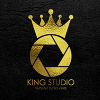 King Studio Logo Template