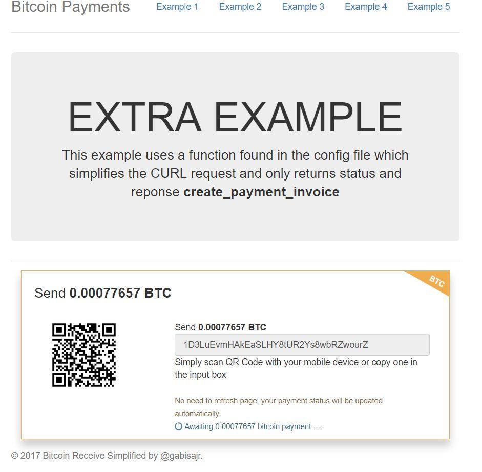 how to get blockchain address