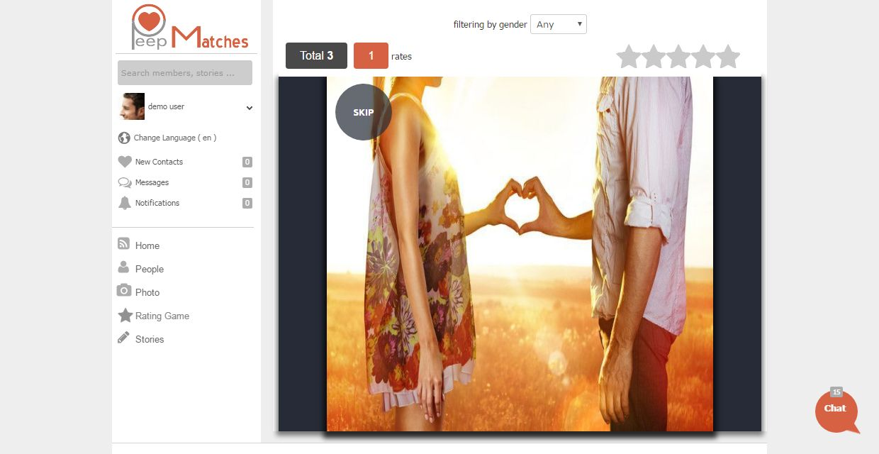 Peepmatches - Advanced Social Dating Software Screenshot 10