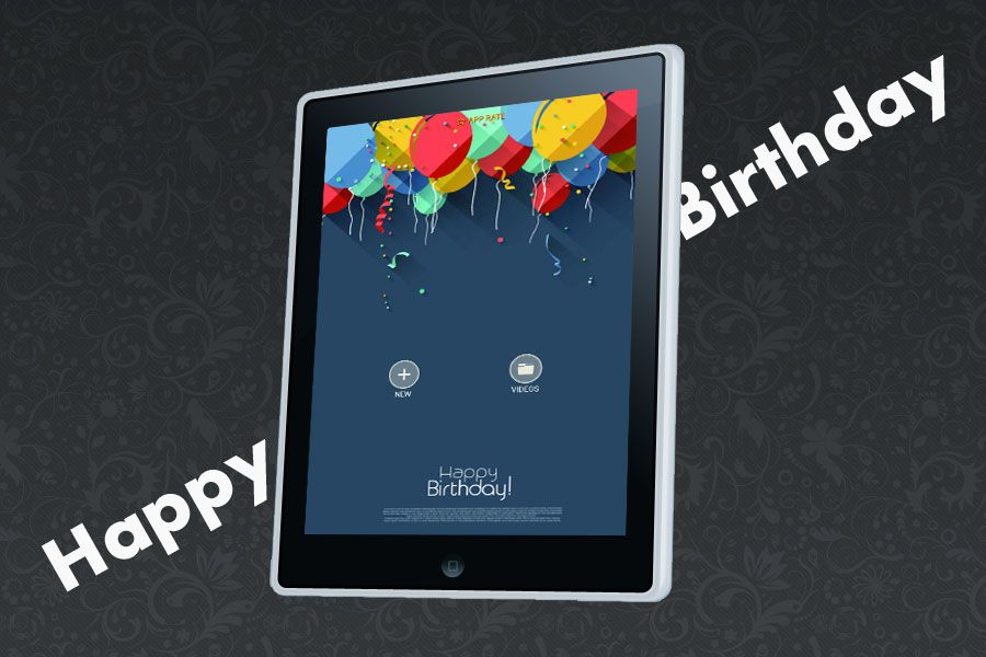 Happy Birthday - Video Maker Android Source Screenshot 1