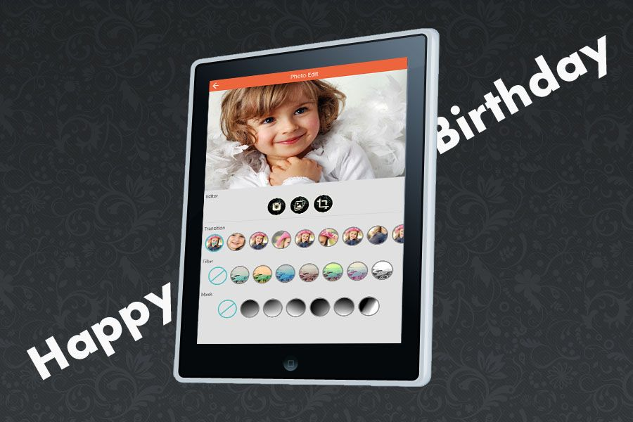 Happy Birthday - Video Maker Android Source Screenshot 3