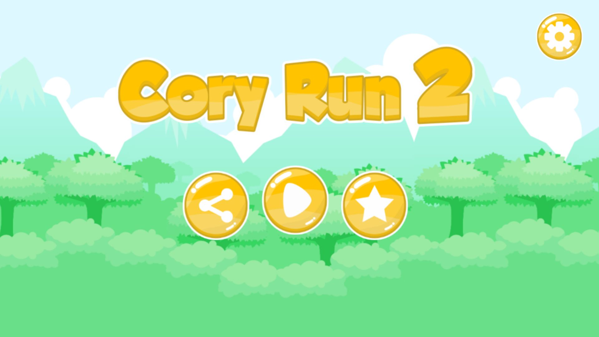 Cory Run 2 - Buildbox Game Template Screenshot 1
