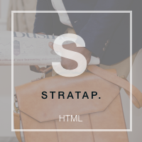 Stratap - HTML Business Landing Page