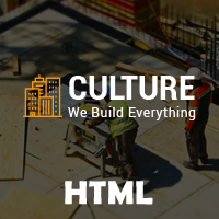 Culture - Construction Business HTML Template