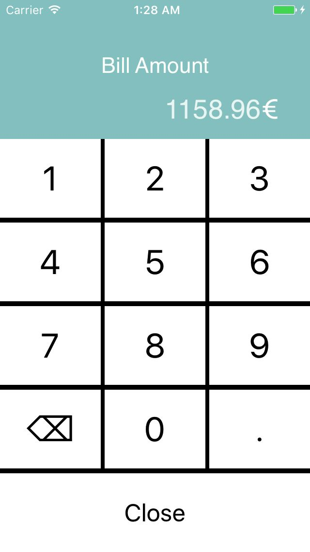 Tip Calculator - iOS App Source Code Screenshot 5