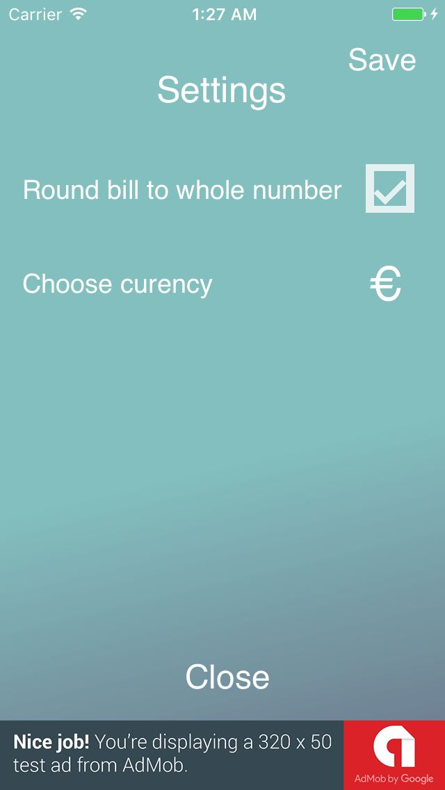 Tip Calculator - iOS App Source Code Screenshot 6