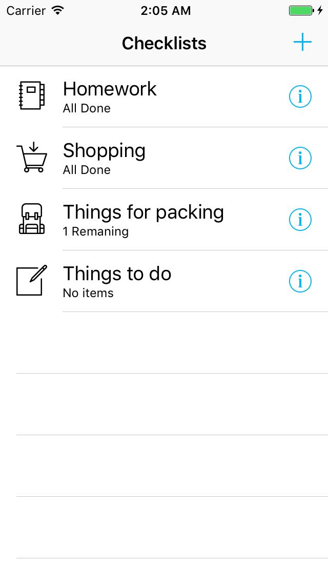 To-Do list iOS App Source Code Screenshot 6