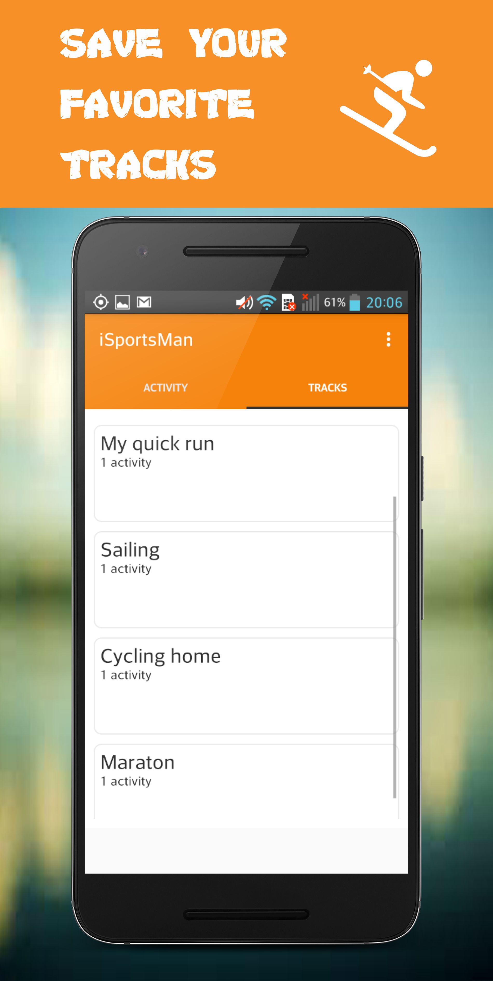 iSportsMan - Workout Trainer Android Screenshot 4