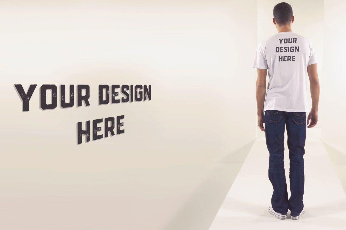 12 PSD T-Shirt Mock-ups Screenshot 5