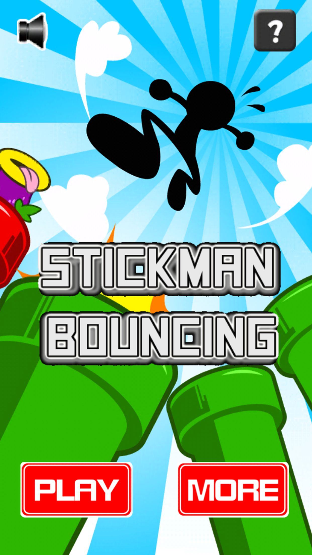 Stickman Bouncing - Complete Unity Project Screenshot 1