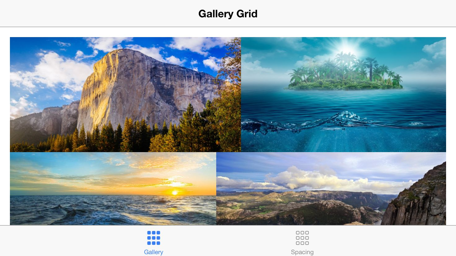 Gallery Grid For Angular And Ionic Screenshot 5
