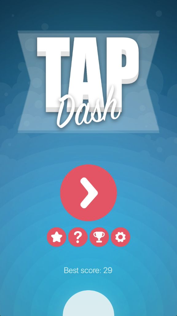 Tap Dash - iOS Xcode Source Code Screenshot 1