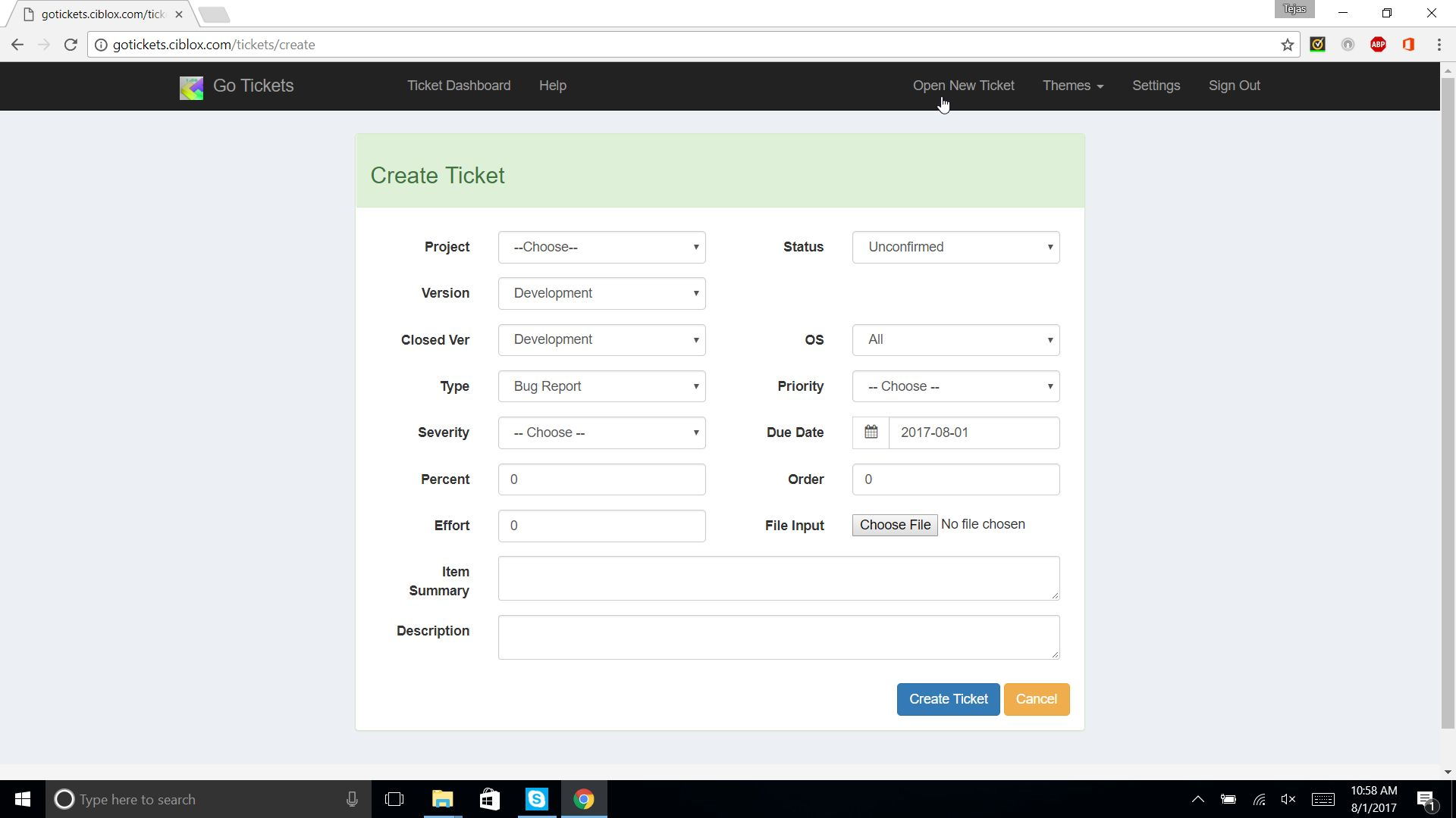 Go Tickets - Ticket Management System Screenshot 3