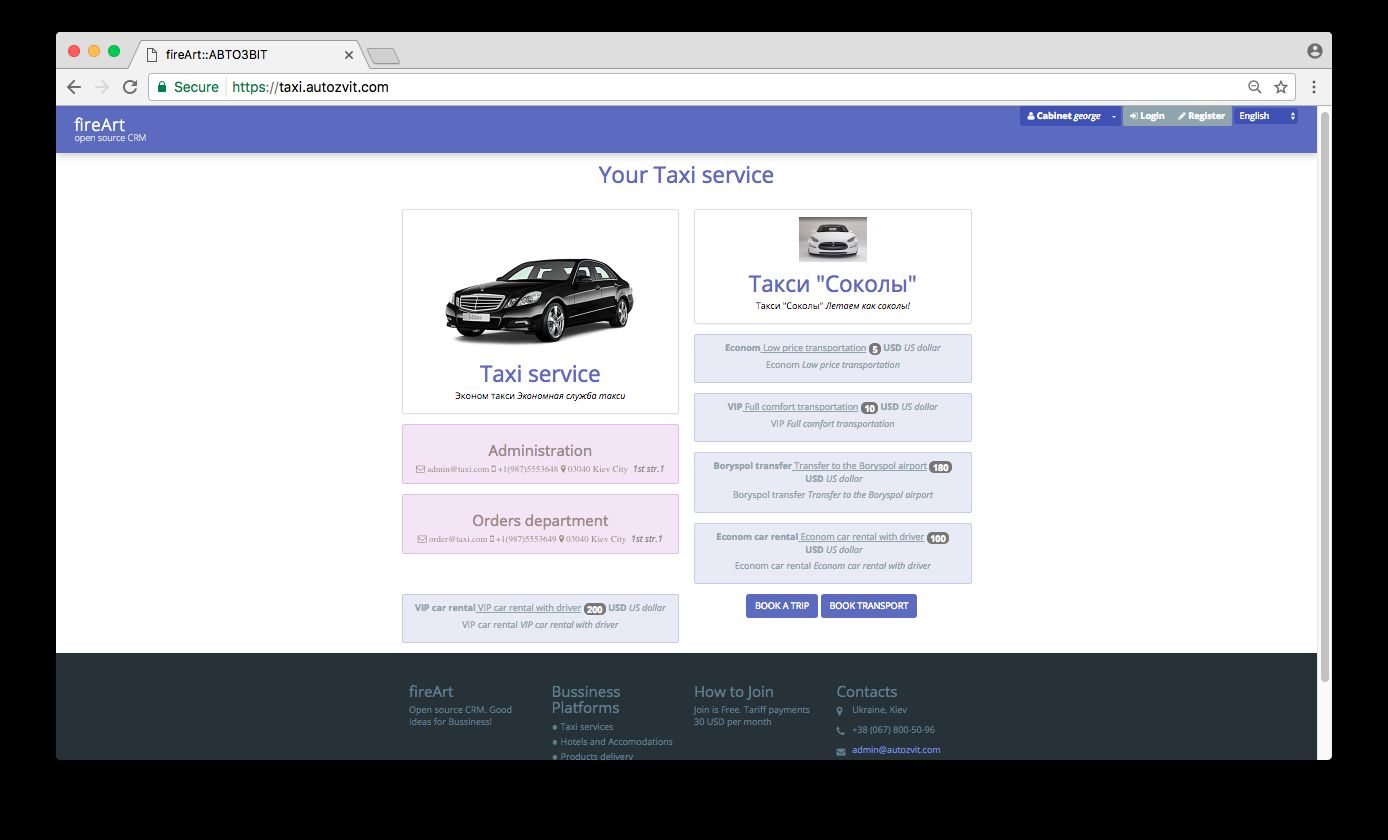 Taxi Booking Website And Database Backend Script Screenshot 1