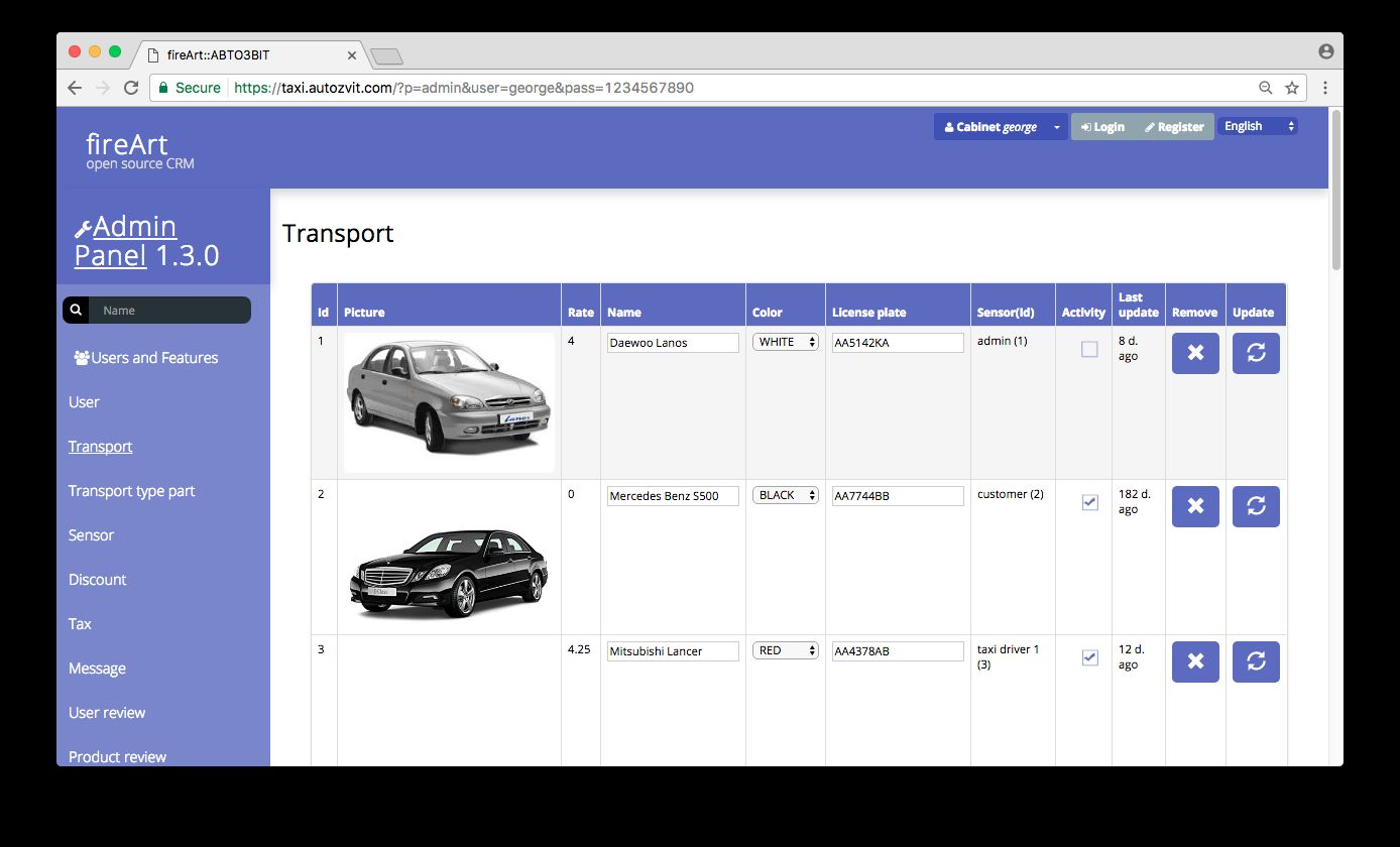 Taxi Booking Website And Database Backend Script Screenshot 2