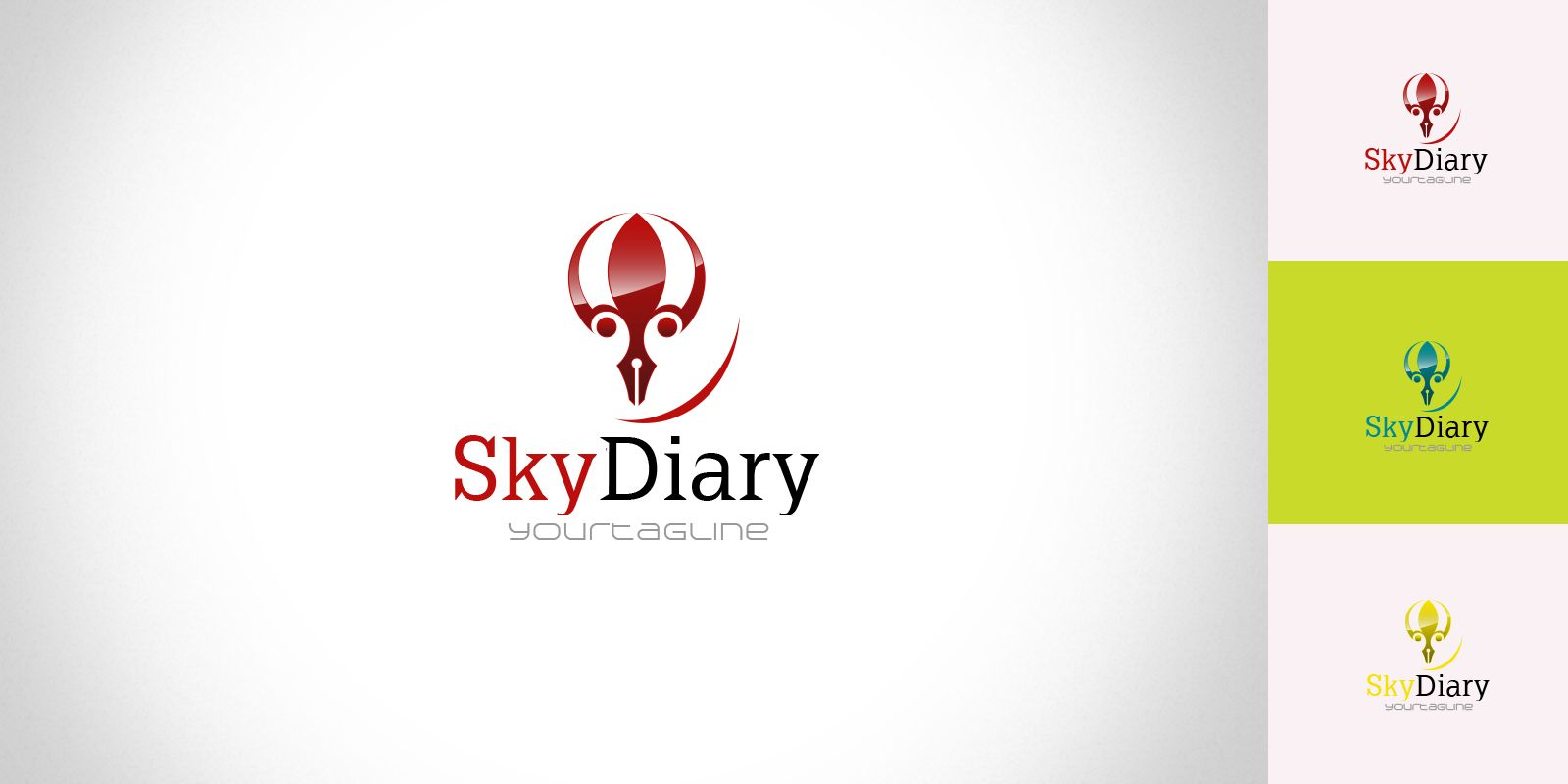 SkyDiary - Logo Template Screenshot 1