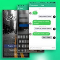 Chat app for android source code