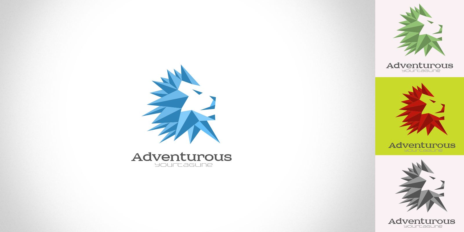 Adventurous - Logo Template Screenshot 1