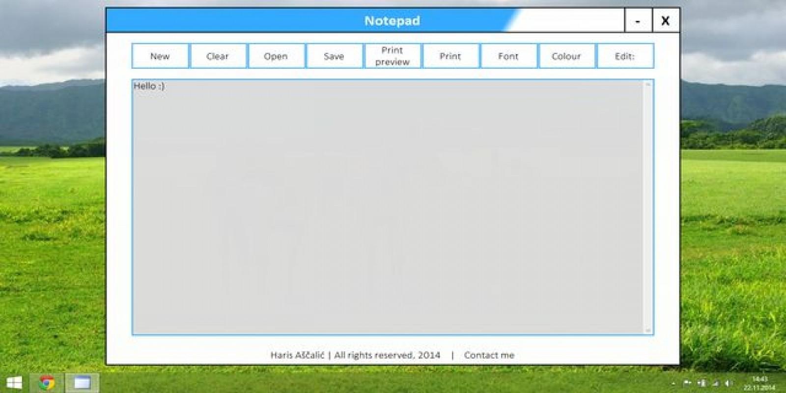 Notepad Written In Vb Net Codester