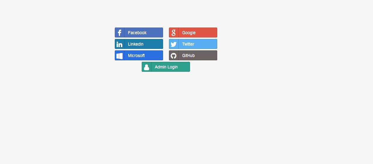 Social Oauth Login PHP Screenshot 1