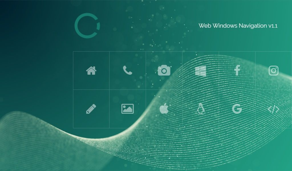 Web Windows Navigation Screenshot 1