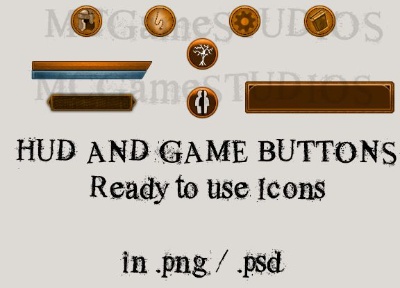 RPG UI And Icons Screenshot 3