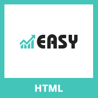 Easy - One Page HTML Business Template.