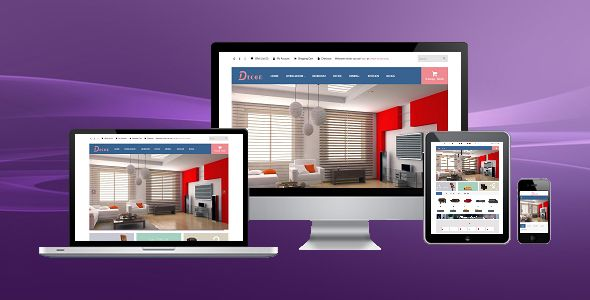 Decor - Responsive Opencart Theme Screenshot 1