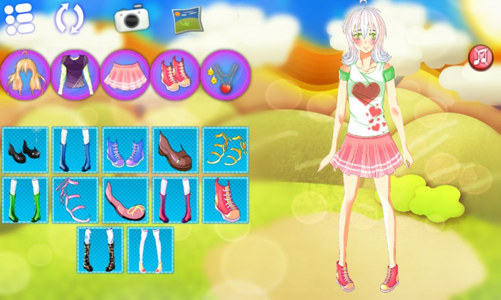Jennifer Dress Up - Construct 2 Game Template Screenshot 1