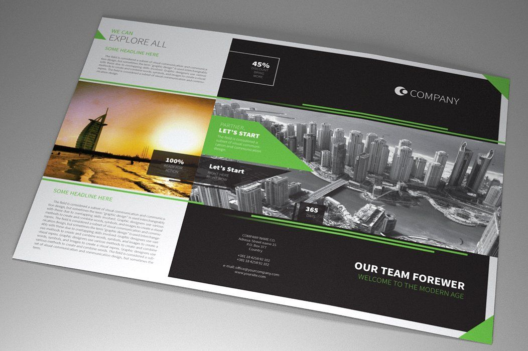 Indesign Brochure Corporate Vol 1 Screenshot 2
