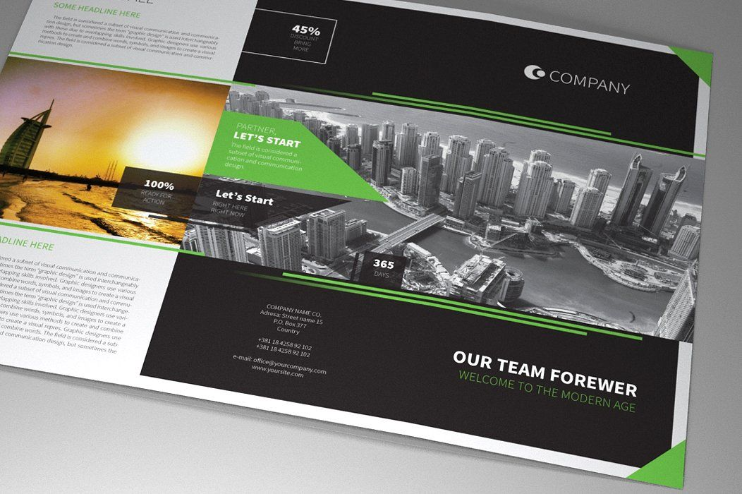 Indesign Brochure Corporate Vol 1 Screenshot 4