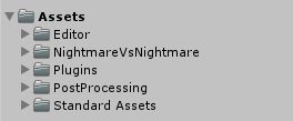 Nightmare Vs Nightmare - Unity Source Code Screenshot 6