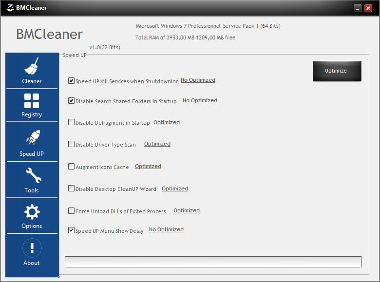 BMCleaner - Full Application Source Code Screenshot 8